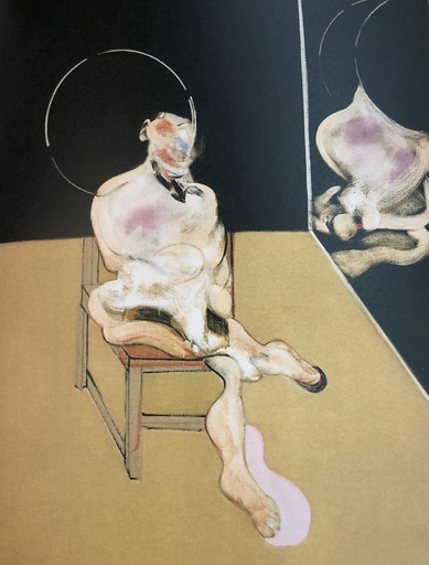 Francis BACON - Estampe-Multiple - Seated Figure