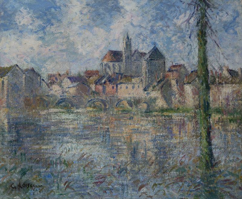 Gustave LOISEAU - Painting - Moret-sur-Loing