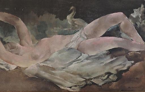 Rodolphe Théophile BOSSHARD - Painting - Nu de dos