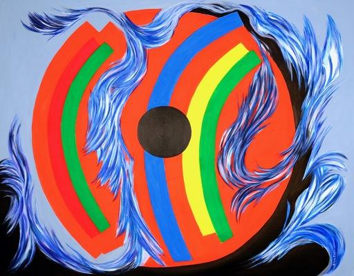 Bleue ROY - Gemälde - BEHOLD