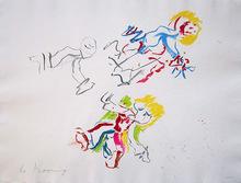 """Willem DE KOONING (1904-1997) - """"For Lisa"""""""