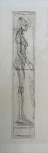 阿尔贝托•贾科梅蒂 - 版画 - Nu de Profil (Nudo di profilo)
