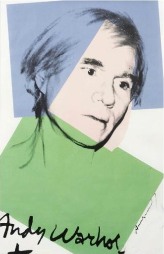 Andy WARHOL - Print-Multiple - Self Portrait