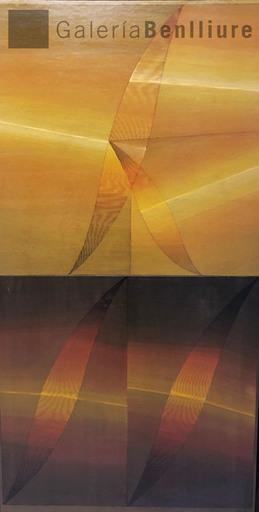 Eusebio SEMPERE - Pintura - Díptico ocre y siena