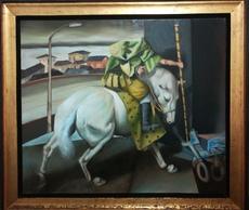 David Londono MANZUR - Pintura - san jorge y dragon