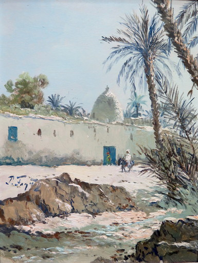 Pierre FAGET-GERMAIN - Pittura - Sud Tunisien