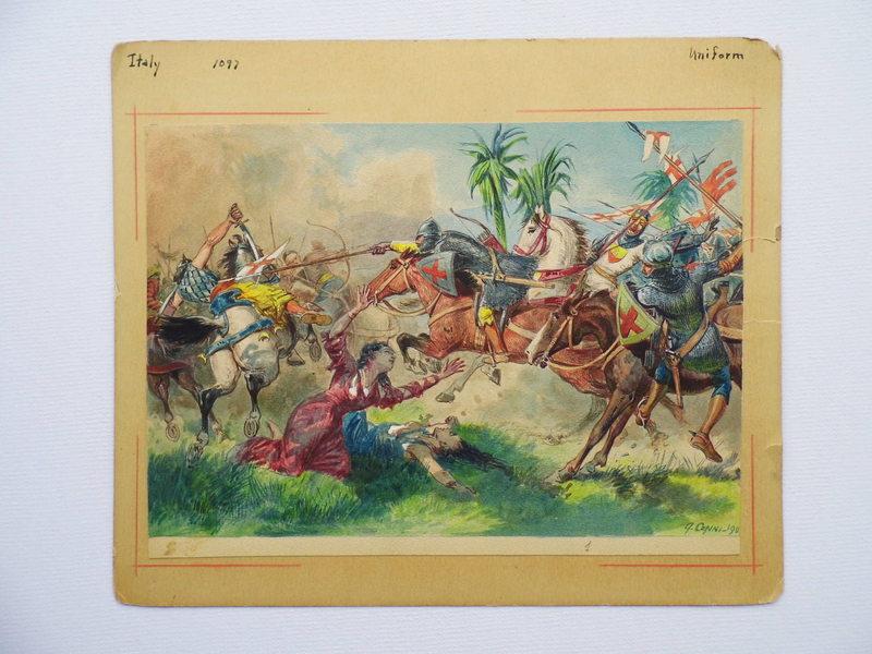 Quinto CENNI - Dibujo Acuarela - Battle Scene
