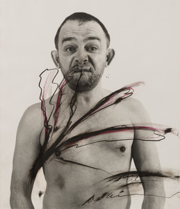 Arnulf RAINER - Painting - Body Pose