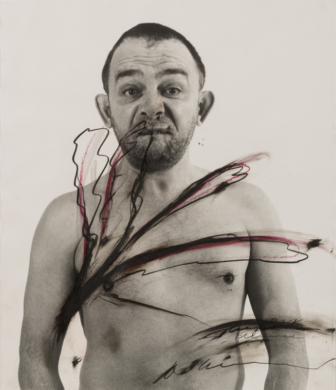 Arnulf RAINER - Gemälde - Body Pose
