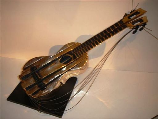 Fernandez ARMAN - Sculpture-Volume - Sliced Ukulele