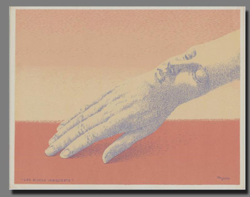 René MAGRITTE - Stampa-Multiplo - Les Bijoux Indiscrets