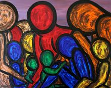 Francesco RUSPOLI - Pintura - A change of worlds    (Cat N° 5386)
