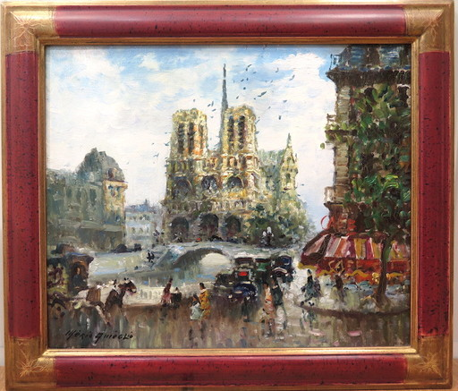 Merio AMEGLIO - Pintura - Notre-Dame de Paris