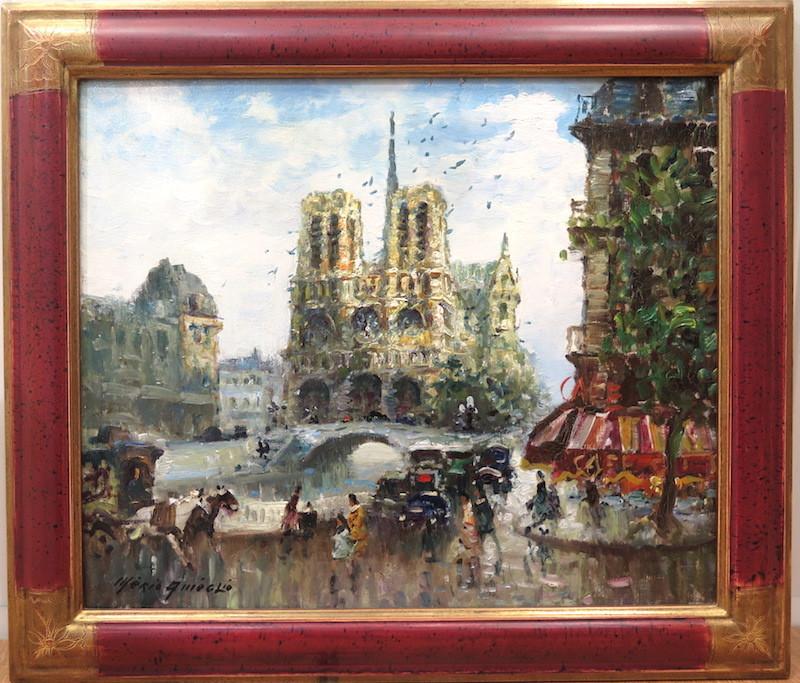 Merio AMEGLIO - Gemälde - Notre-Dame de Paris