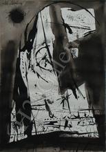 """José CABALLERO - Drawing-Watercolor - """"Llanto por Ignacio Sánchez Mejías, de Federico García Lorca"""