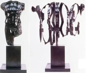 Fernandez ARMAN - Escultura - Force Décuplée