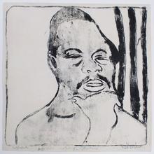 Ernst Ludwig KIRCHNER - Print-Multiple - Negerkopf