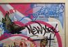 SONIC - Peinture - Sonic STREET TERROR NYC Subway Map