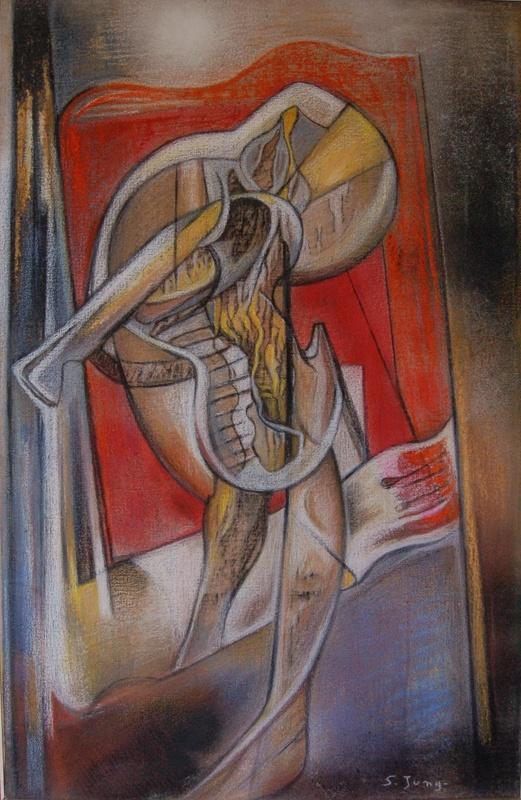 Simonetta JUNG - 绘画 - abstraction