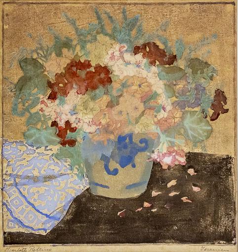 Charlotte ROLLINS - Zeichnung Aquarell - Flowers