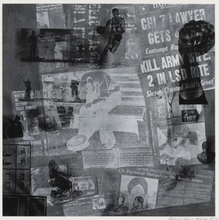 Robert RAUSCHENBERG - Grabado - Surface Series from Currents