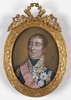 "August Carl Graf VON SEINSHEIM - Miniature - ""Marshall Mortier"", Portrait Miniature"