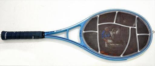 Wim DELVOYE - Sculpture-Volume - Racchetta da tennis