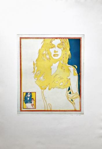 Werner BERGES - Print-Multiple - Blondi