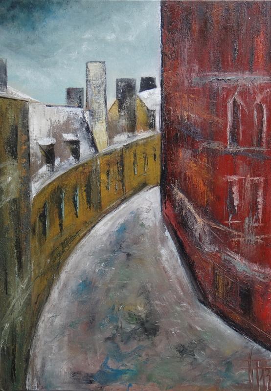 Géraldine THEUROT - Peinture - Stockholm III    (Cat N° 4932)