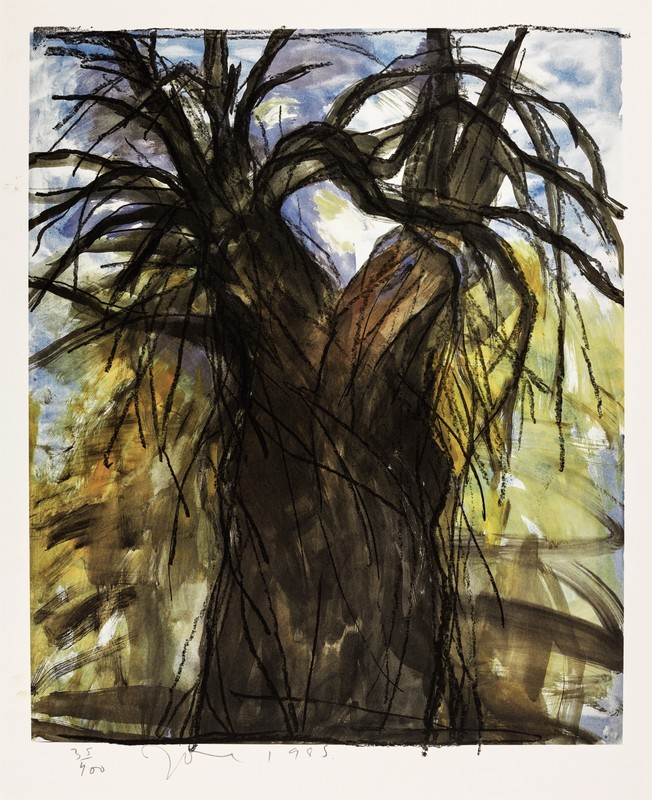 Jim DINE - Print-Multiple - The New Years Tree