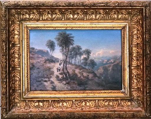Félix ZIEM - Peinture - Paysage Orientaliste - Probablement en Egypte