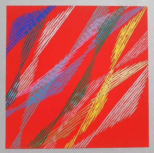 Piero DORAZIO - Estampe-Multiple - Composizione B