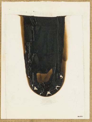 Alberto BURRI - Painting - Combustione