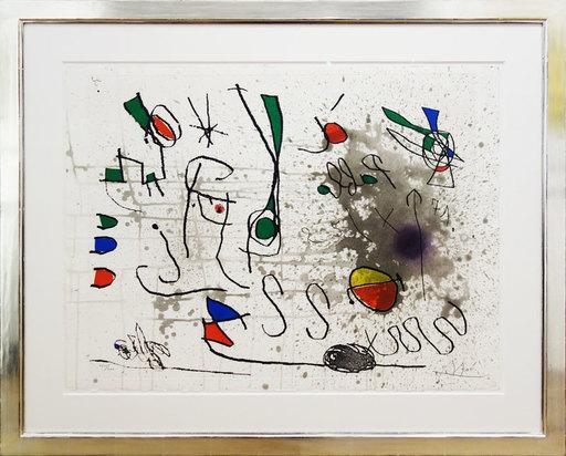 Joan MIRO - Print-Multiple - Hommage à Picasso