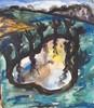 Friedrich EINHOFF - 水彩作品 - Abstraktes Aquarell