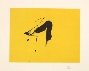 Robert MOTHERWELL, Black Sun