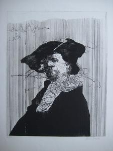Claude WEISBUCH - Print-Multiple - GRAVURE SIGNÉE AU CRAYON NUM/50 HANDSIGNED NUMB/50 ETCHING