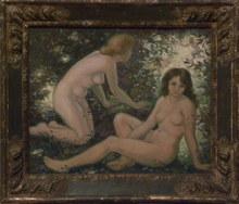 Charles NAILLOD - Peinture - Inquiétude