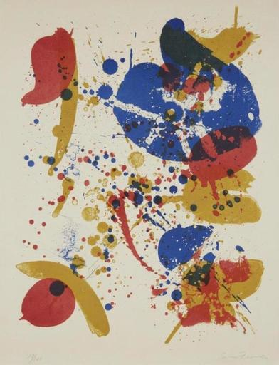 Sam FRANCIS - Estampe-Multiple - #6 from