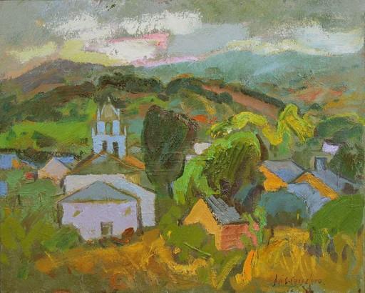 José SANCHEZ CARRALERO - Painting - ...Y llega la noche