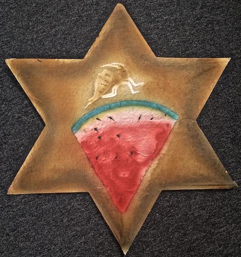 Francisco TOLEDO - 绘画 - Watermelon star kite