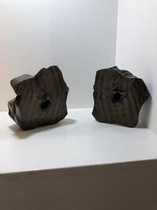 """Lucio FONTANA - Sculpture-Volume - Concetto spaziale """" Natura """""""