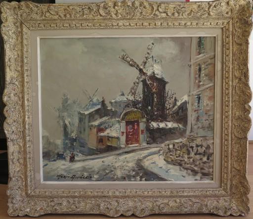 Merio AMEGLIO - Pittura - Le moulin de la Galette