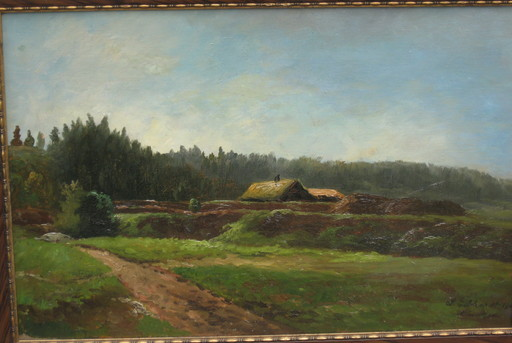 Ludwig GEBHARDT - Pintura - Todtenauer Moor