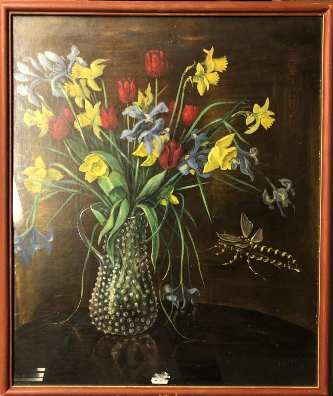 Stanislas LEPRI - Painting - Fiori