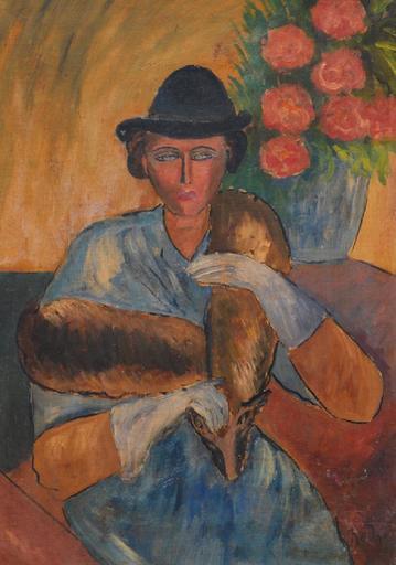 Kliment Nikolaevich REDKO - Gemälde - Female portrait