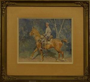 Zygmunt ROZWADOWSKI, Soldier on horseback