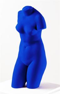 Yves KLEIN, La Vénus d'Alexandrie (Vénus bleue), 1962/82