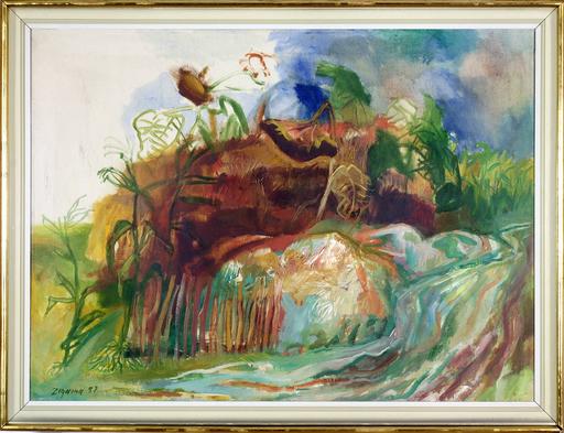 Giuseppe ZIGAINA - Peinture - Senza titolo