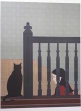 William BARNETT - Print-Multiple - At the Bannister